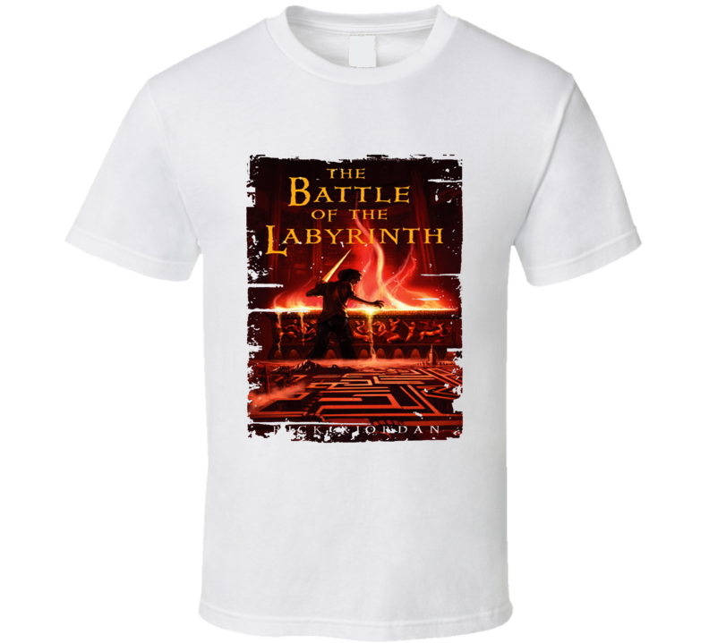 The Battle Of Labyrinth Book Lover Worn Look Awesome Literary T Shirt