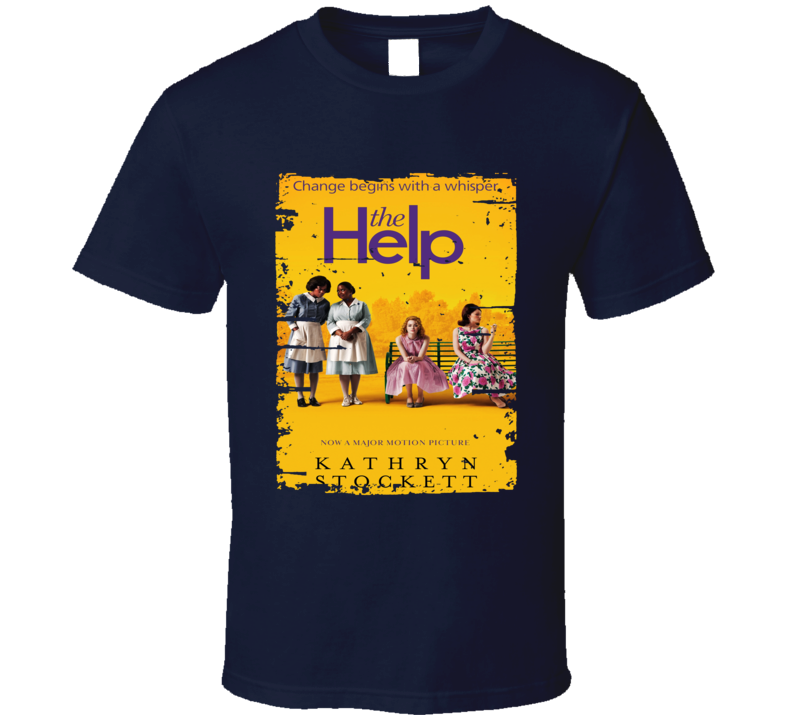 The Help Book Lover Worn Look Awesome Literary T Shirt