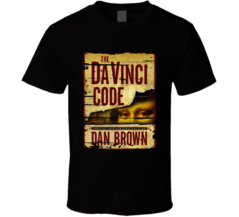 The Da Vinci Code Book Lover Worn Look Awesome Literary T Shirt
