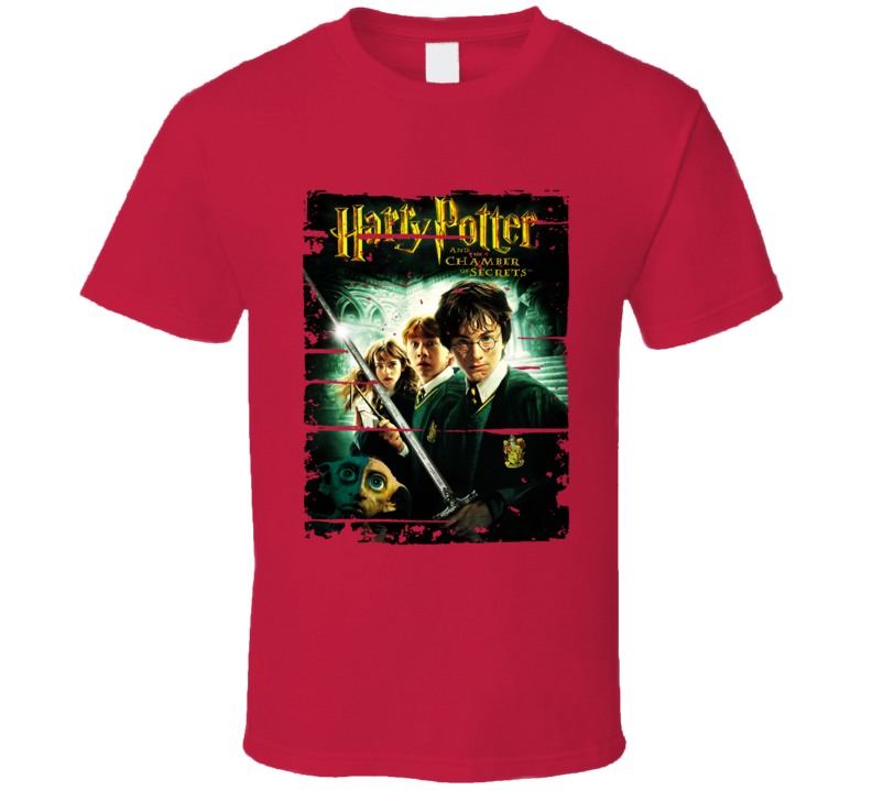 Harry Potter Chamber Of Secrets Bookworn Look Awesome Literary T Shirt