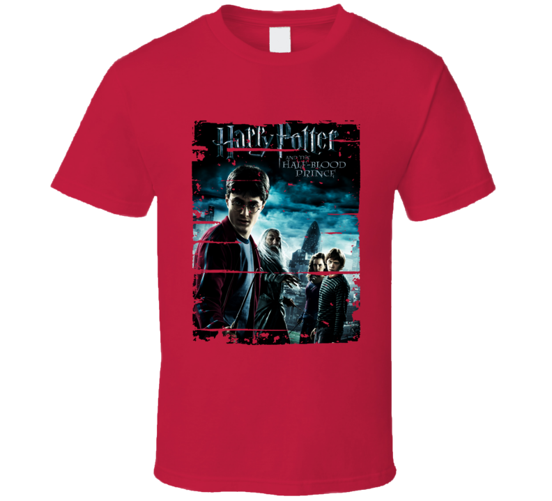 Harry Potter Half-blood Prince Worn Look Awesome Literary T Shirt