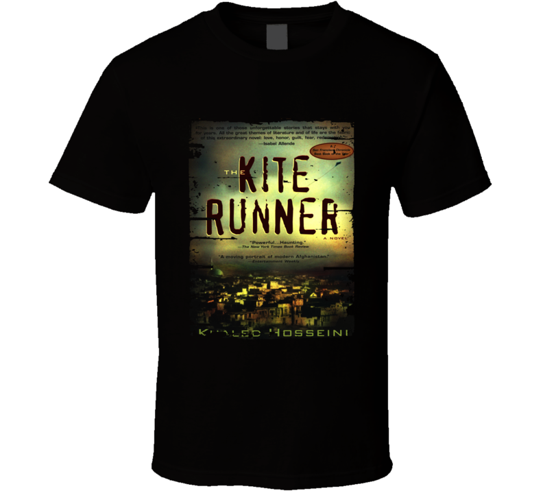 The Kite Runner Book Lover Worn Look Awesome Literary T Shirt