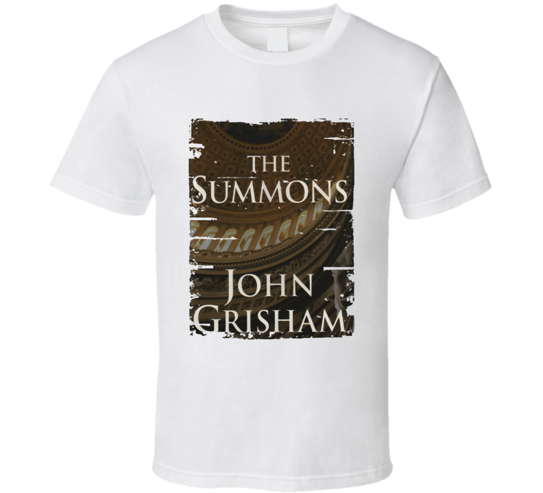 The Summons Book Lover Worn Look Awesome Literary T Shirt