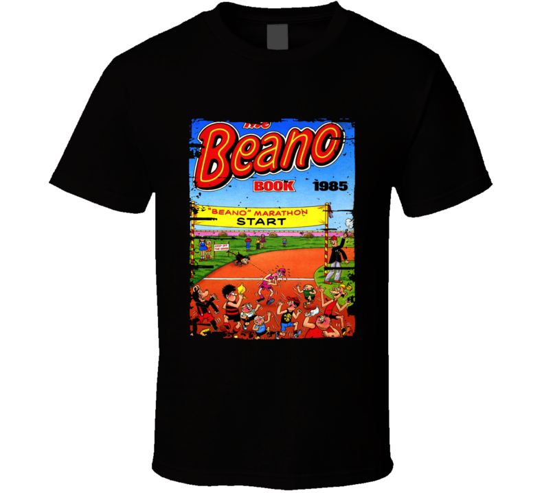 The Annual Beano Book Lover Worn Look Awesome Literary T Shirt