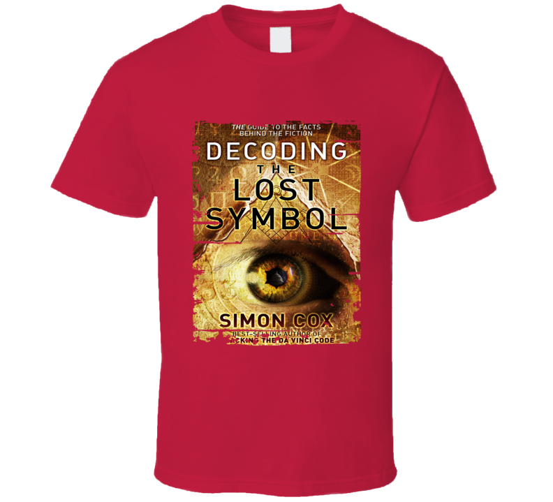 The Lost Symbol Book Lover Worn Look Awesome Literary T Shirt