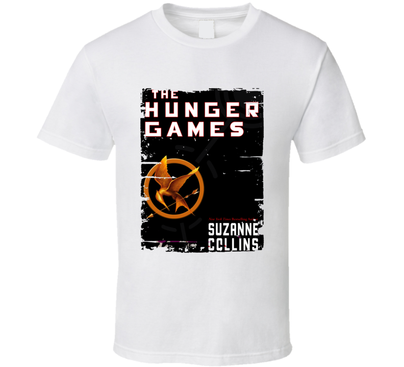 The Hunger Games Trilogy Worn Look Awesome Literary T Shirt
