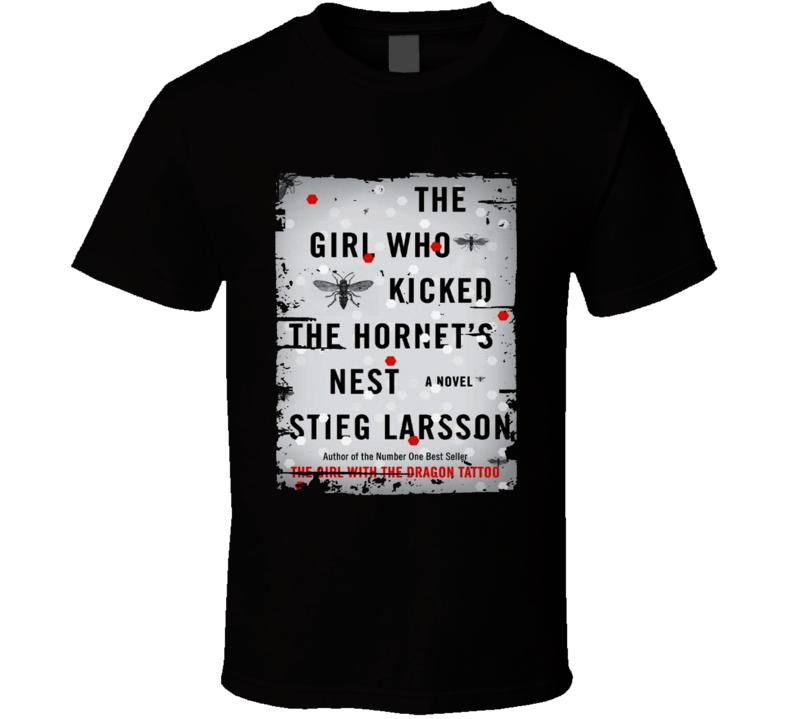Millennium Trilogy Girl Who Kicked The Hornets' Nest Worn Look T Shirt