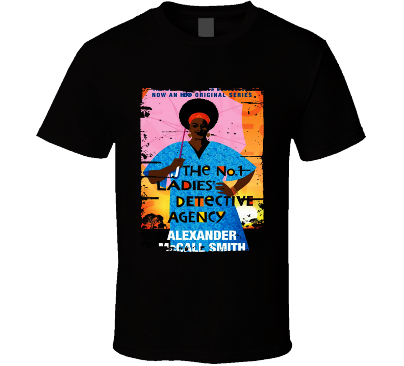 No.1 Ladies' Detective Agency Worn Look Awesome Literary T Shirt