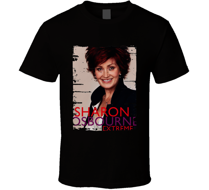 Sharon Osbourne Extreme My Autobiography Worn Look Awesome T Shirt