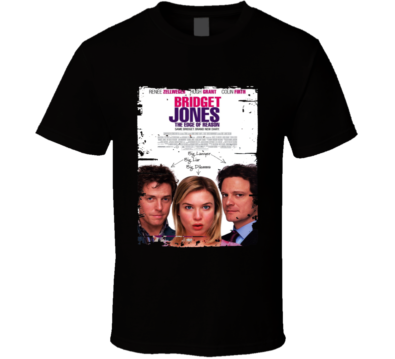 Bridget Jones The Edge Of Reason Worn Look Awesome Literary T Shirt 21