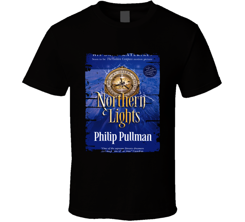 Northern Lights His Dark Materials Worn Look Awesome Literary T Shirt