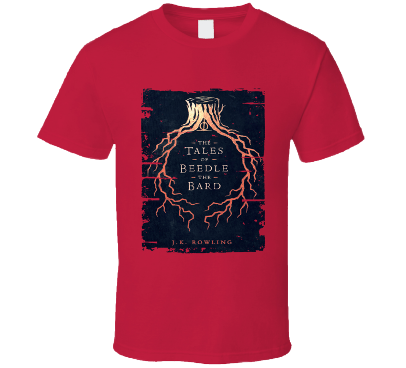 The Tales Of Beedle The Bard Worn Look Awesome Literary T Shirt