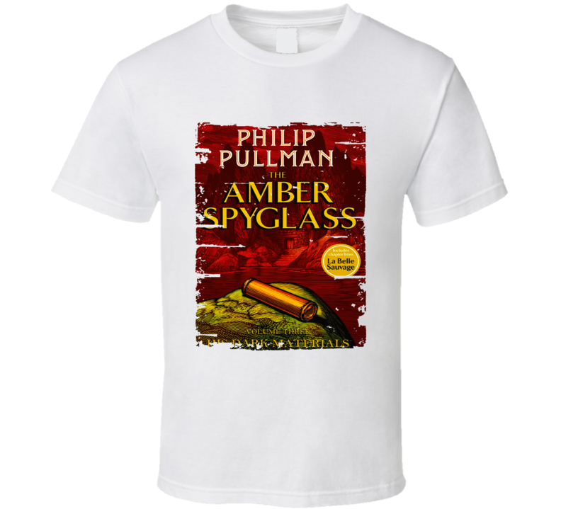 Amber Spyglass His Dark Materials S Worn Look Awesome Literary T Shirt