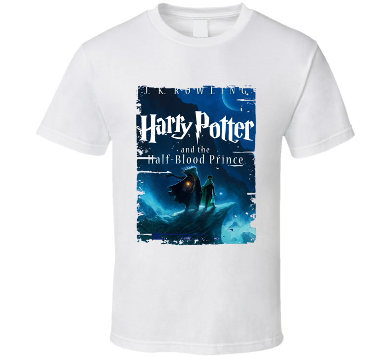 Harry Potter Half-blood Prince Worn Look Awesome Novelt Shirt