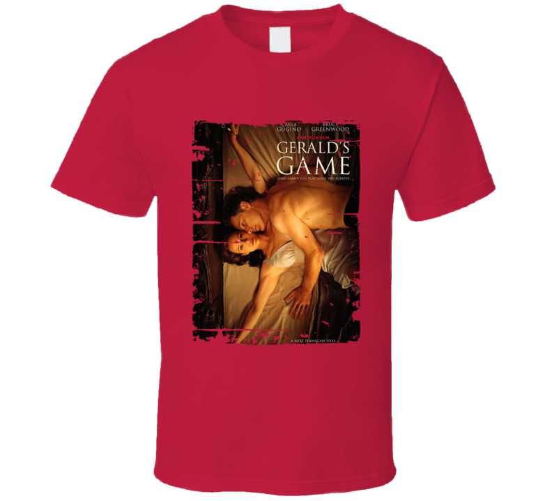 Gerald's Game Poster Cool Film Worn Look Movie Fan T Shirt