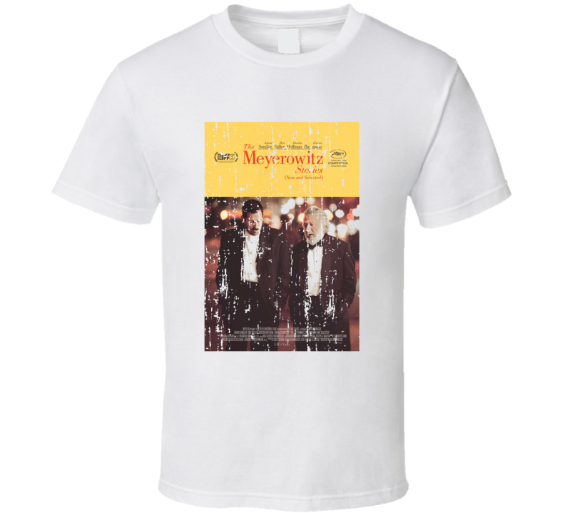 The Meyerowitz Stories Poster Cool Film Worn Look Movie Fan T Shirt