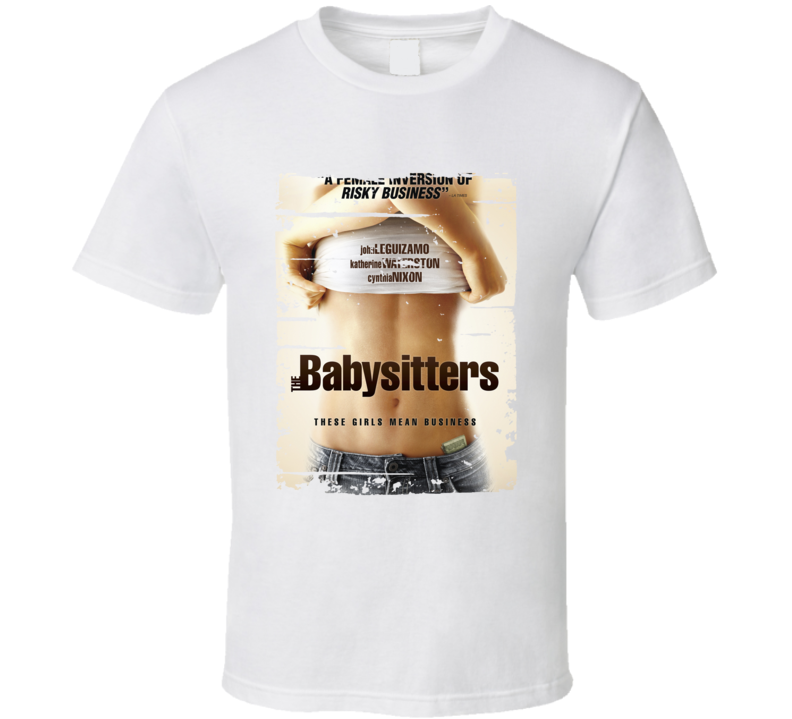 The Babysitter Poster Cool Film Worn Look Movie Fan T Shirt