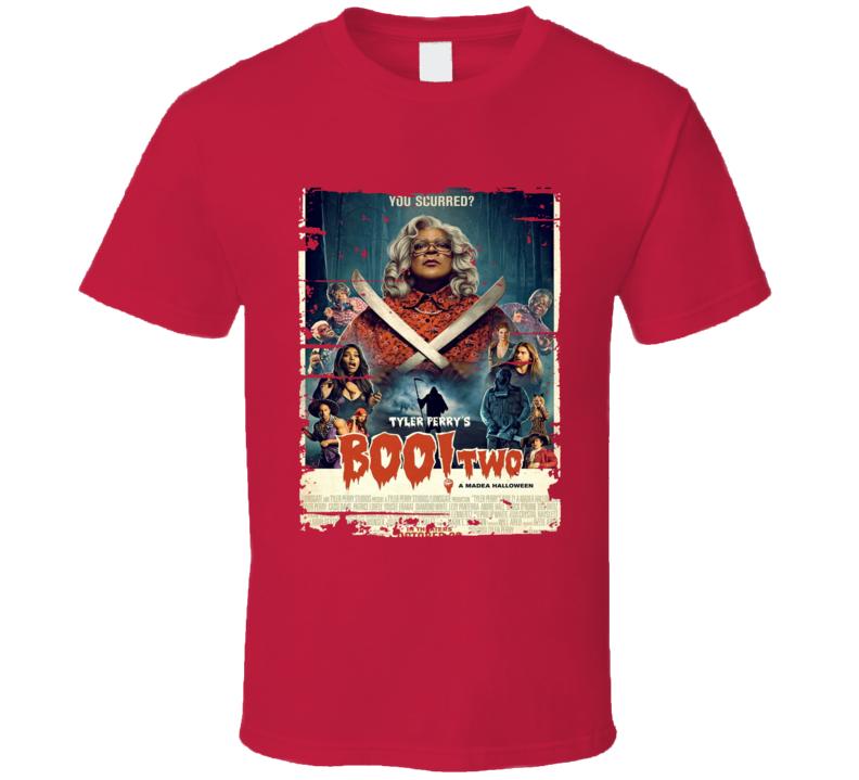 A Madea Halloween Poster Cool Film Worn Look Movie Fan T Shirt