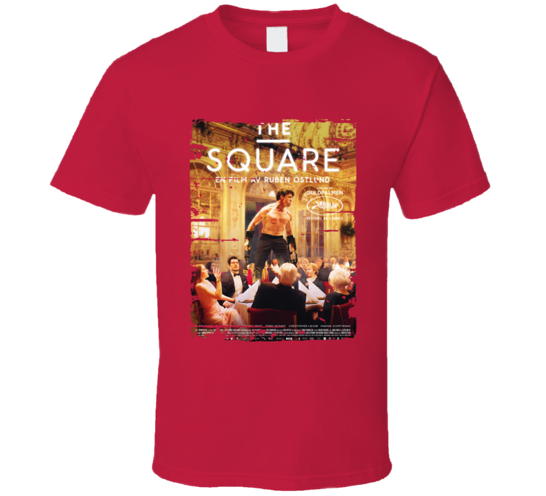 The Square Poster Cool Film Worn Look Movie Fan T Shirt