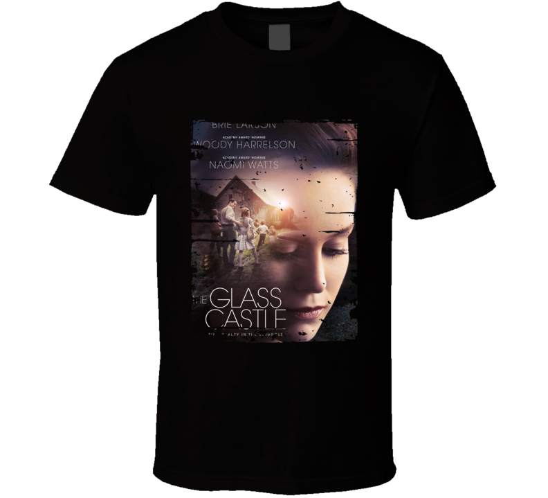 The Glass Castle Poster Cool Film Worn Look Movie Fan T Shirt