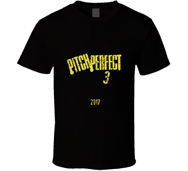 Pitch Perfect 3 Poster Cool Film Worn Look Movie Fan T Shirt