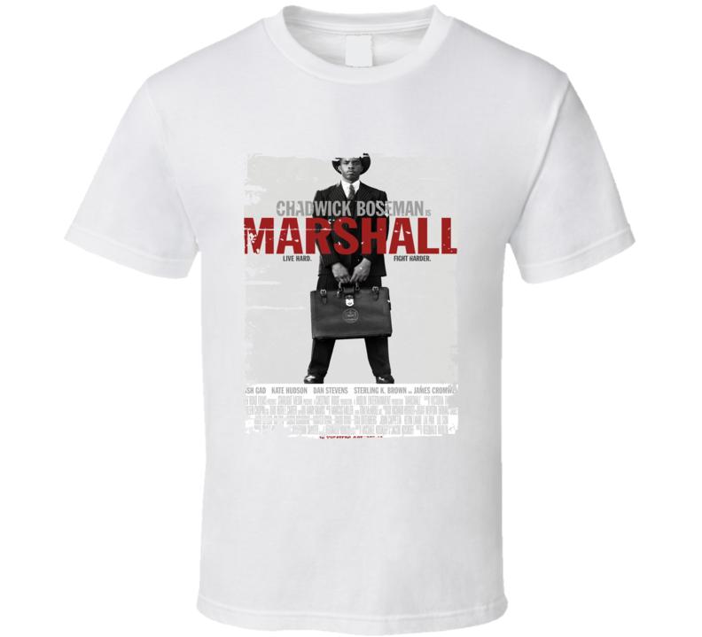 Marshall Poster Cool Film Worn Look Movie Fan T Shirt