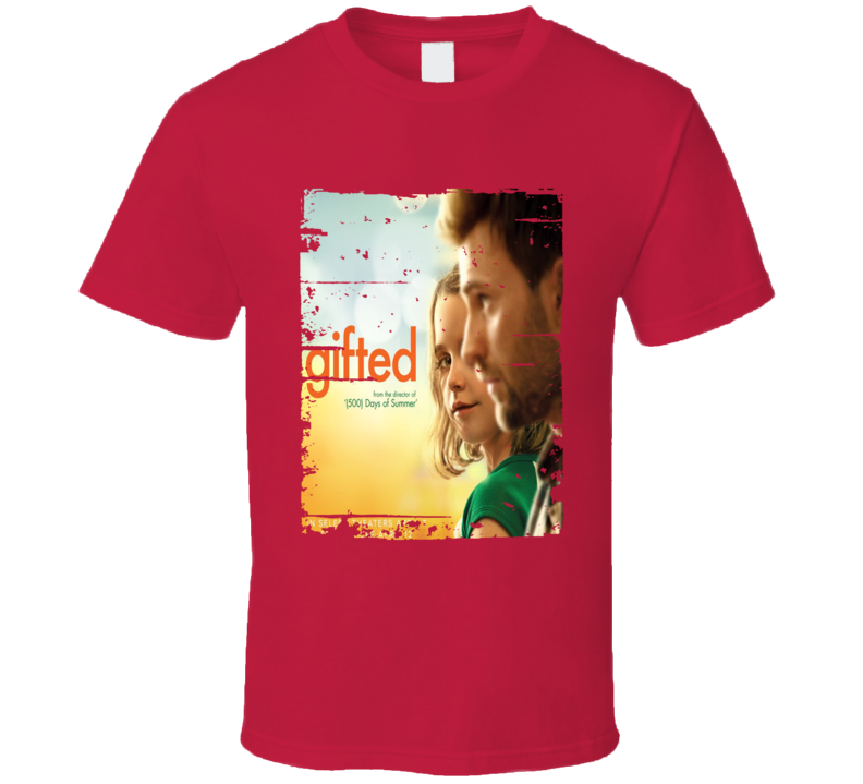 Gifted Poster Cool Film Worn Look Movie Fan T Shirt