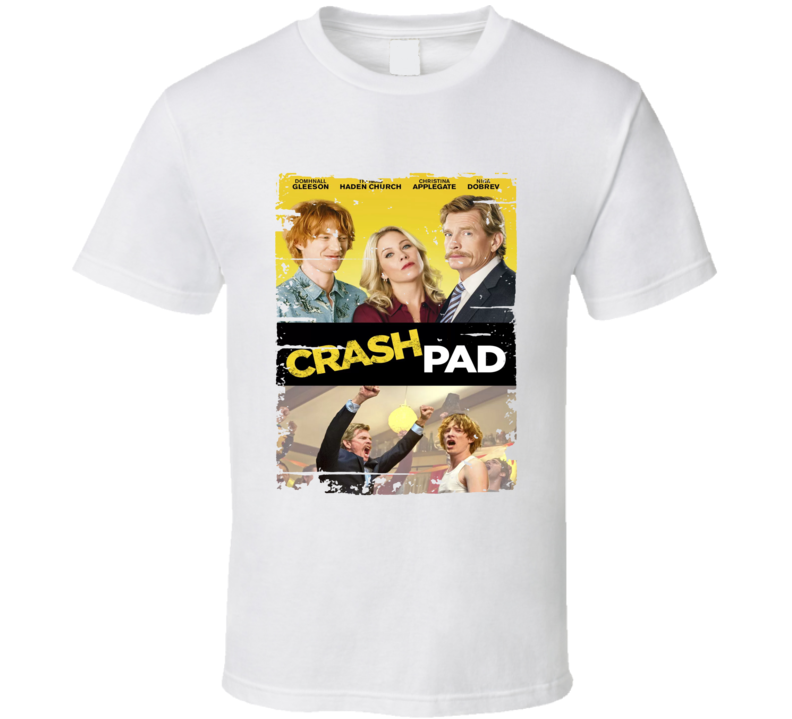 Crash Pad Poster Cool Film Worn Look Movie Fan T Shirt