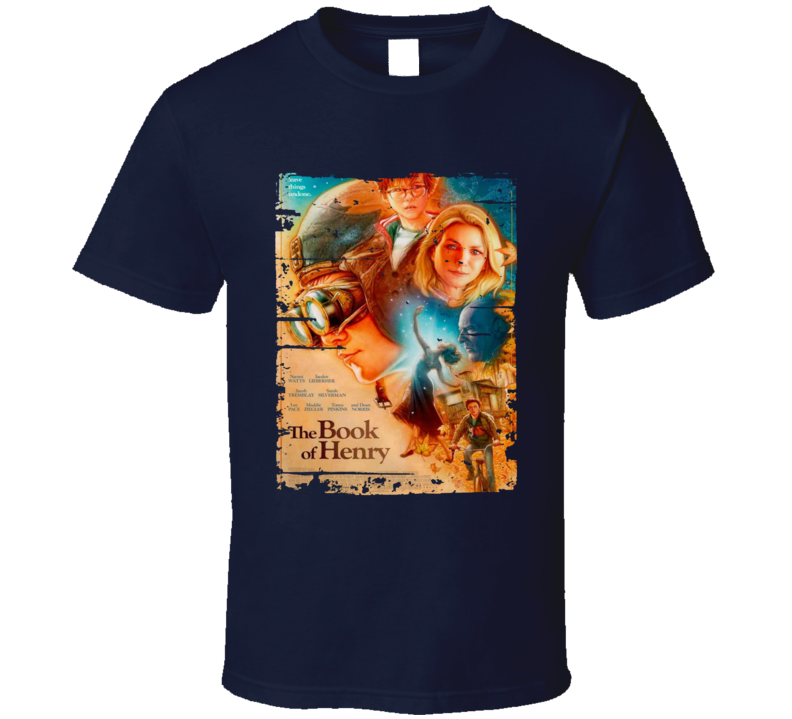 The Book Of Henry Poster Cool Film Worn Look Movie Fan T Shirt