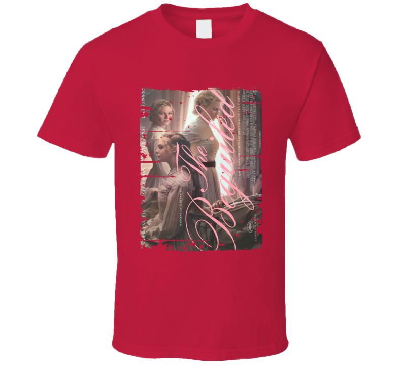 The Beguiled Poster Cool Film Worn Look Movie Fan T Shirt
