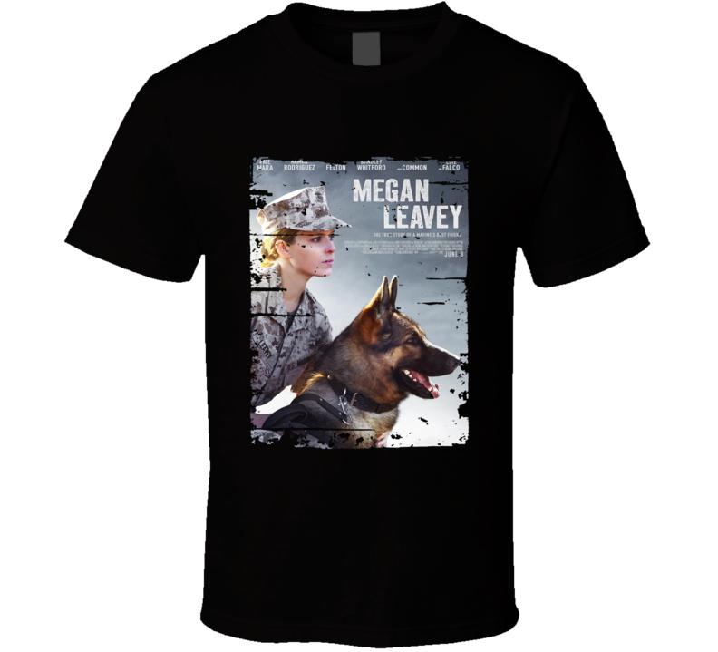 Megan Leavey Poster Cool Film Worn Look Movie Fan T Shirt