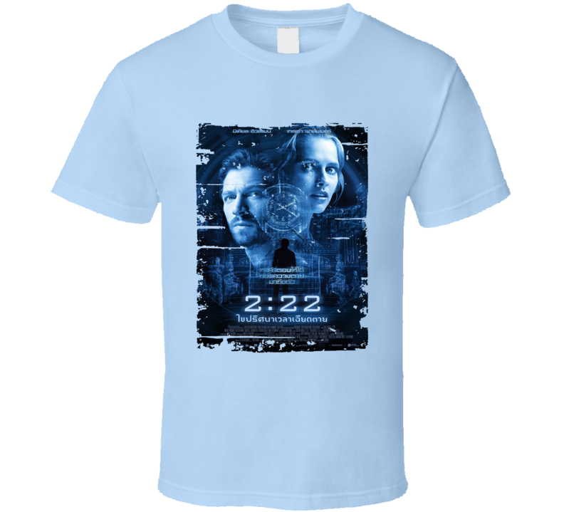 2 22 Poster Cool Film Worn Look Movie Fan T Shirt