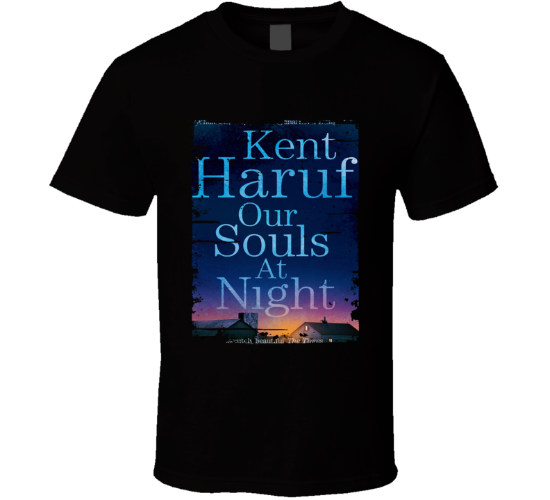 Our Souls At Night Poster Cool Film Worn Look Movie Fan T Shirt