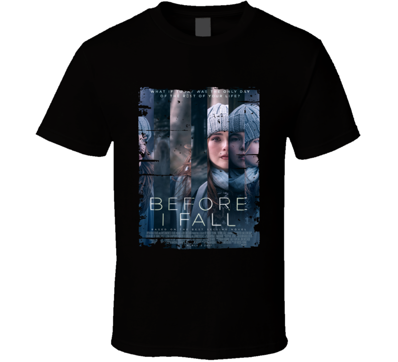 Before I Fall Poster Cool Film Worn Look Movie Fan T Shirt