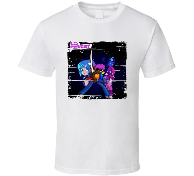 Lil Uzi Vert Lil Uzi Vert Vs. The World Album Worn Look Music T Shirt