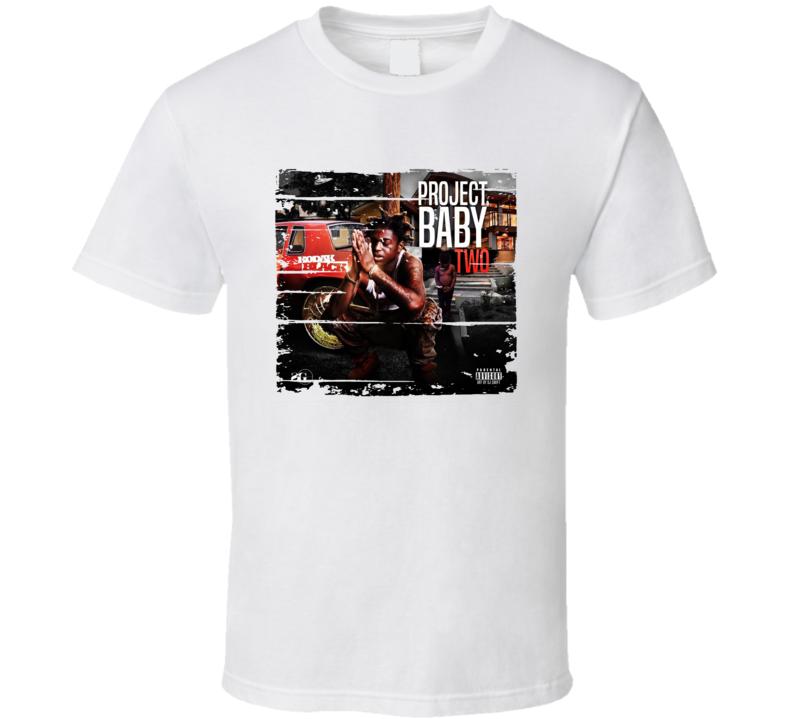 Kodak Black Project Baby Two Album Worn Look Music T Shirt
