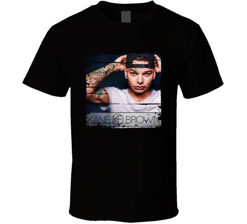Kane Brown Country Album Worn Look Music T Shirt