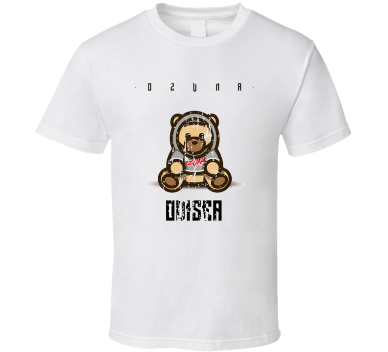 Ozuna Odisea Album Worn Look Music T Shirt