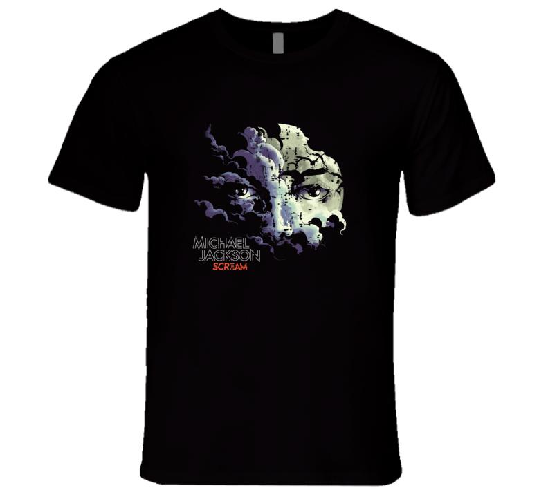 Michael Jackson Scream Album Worn Look Music T Shirt