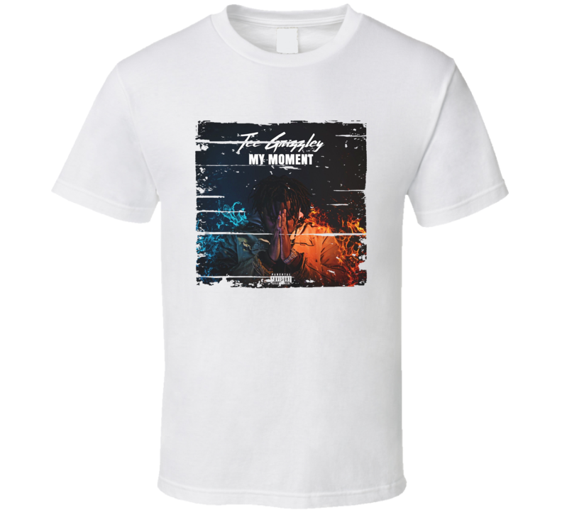 Tee Grizzley My Moment Album Worn Look Music T Shirt