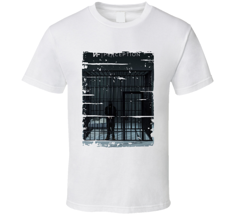 Nf Perception Album Worn Look Music T Shirt
