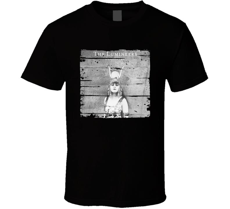 The Lumineers Cleopatra Album Worn Look Music T Shirt
