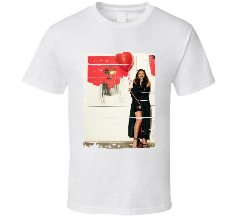Rihanna Anti Album Worn Look Music T Shirt