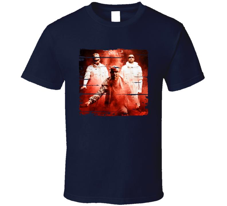 Red Gone Album Worn Look Music T Shirt