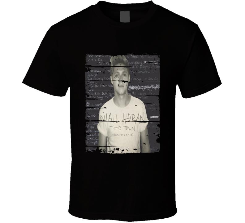 Niall Horan Flicker Album Worn Look Music T Shirt