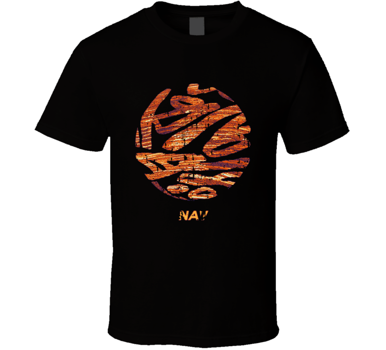Nav Nav Album Worn Look Music T Shirt