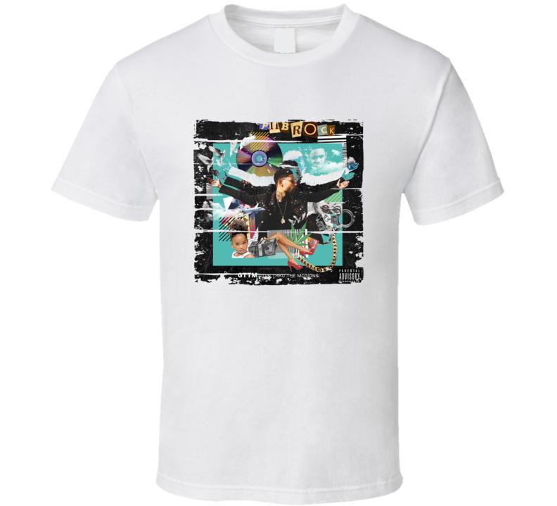 Pnb Rock Gttm Goin Thru The Motions Album Worn Look Music T Shirt
