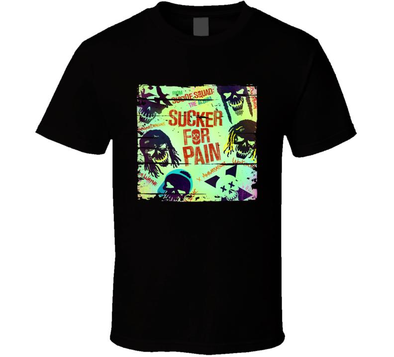 Soundtrack Suicide Squad The Album Album Worn Look Music T Shirt