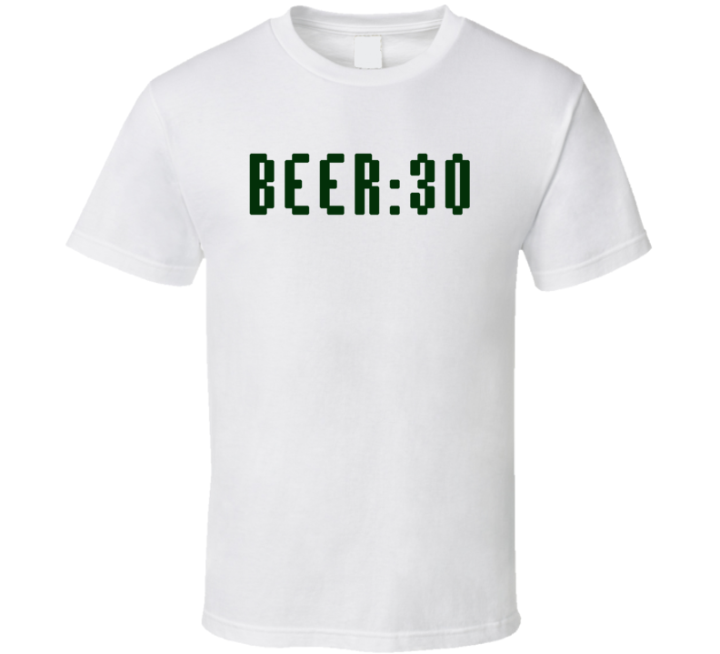 Beer 30 Funny Alcohol Lover X-mas Gift  T Shirt