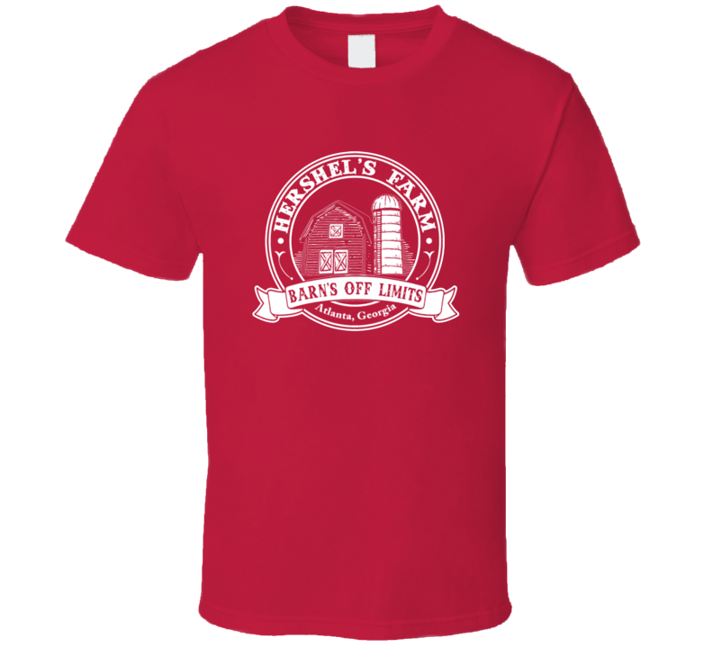 Hershel's Farm Barn's Off Limits Funny Trending Cool T Shirt